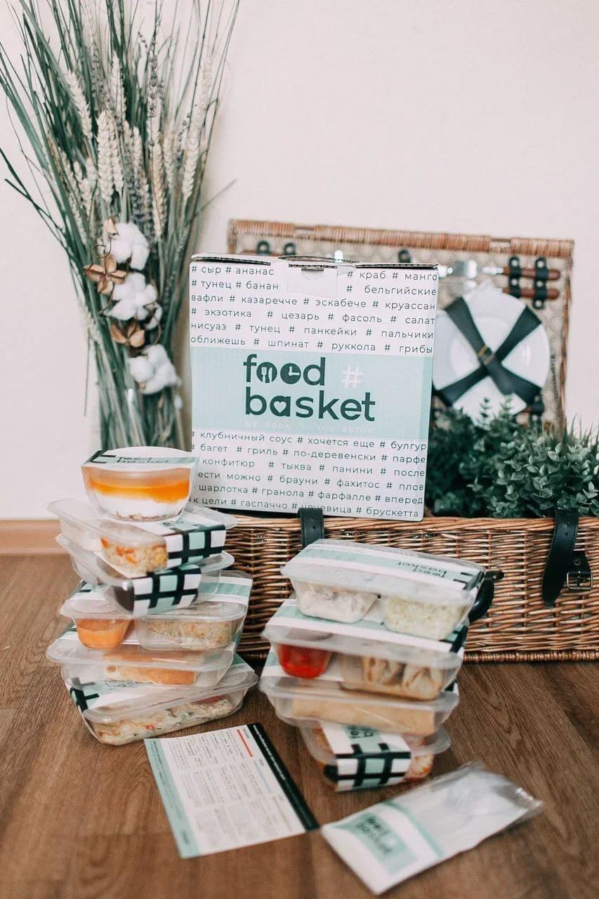 """FoodBasket """"по-настоящему"""" правильное и вкусное питание"""